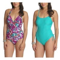 Sun and Sea Basic Missy One Piece 2 Pack