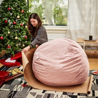 Big Joe Kids Fuf Bean Bag Chair, Lenox