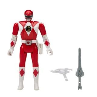 Bandai Power Rangers Mighty Morphin Head Morph Figure, Red Ranger