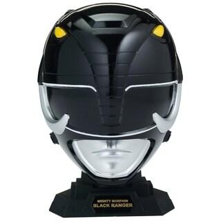 Bandai Power Rangers Mighty Morphin Legacy Collection Helmet, Black Ranger