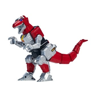 Bandai Power Rangers Mighty Morphin Legacy Zord with Figure, TRex - Red