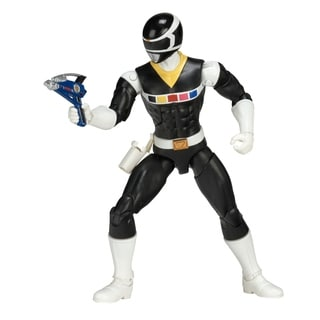 Power Rangers Legacy Mighty Morphin Movie Black Ranger