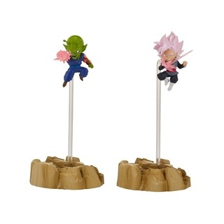 Bandai America Dragon Ball Super Nano Figures 2Pack, Super Saiyan Rose Goku and Piccolo - multi