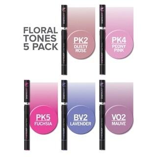 Chameleon Color Tones 5 Pen Floral Tones Set - Multi