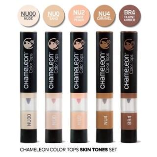 Chameleon 5 Color Tops Skin Tones Set - Multi