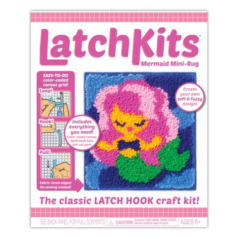 Kahootz Toys Latchkit, Mermaid - Multi