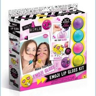 Only 4 Girls Emoji Lip Gloss Kit 4 Pack - Multi