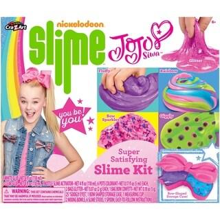 CraZArt Nickleodeon CraZ Jojo Siwa Slime Kit - Pink