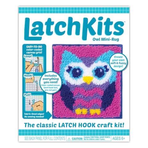 Kahootz Toys Latchkit, Owl - Multi