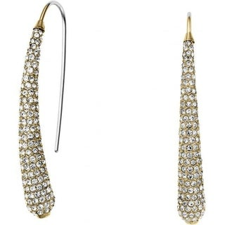 MICHAEL KORS Gold-Tone Crystal Pave Earrings