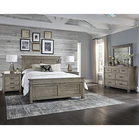 Simply Solid Asquith Solid Wood 4-piece Bedroom Collection