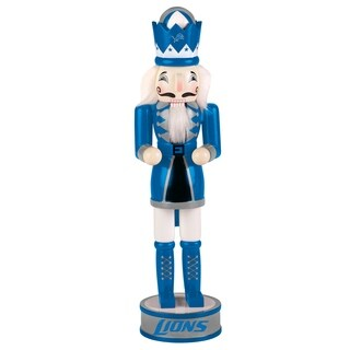 Forever Collectibles Detroit Lions Holiday Nutcracker - multi