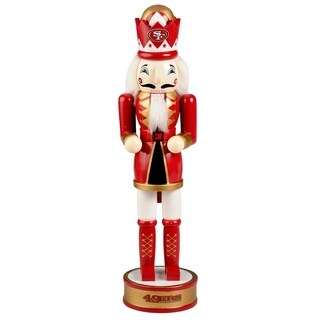 Forever Collectibles San Francisco 49ers Holiday Nutcracker - multi