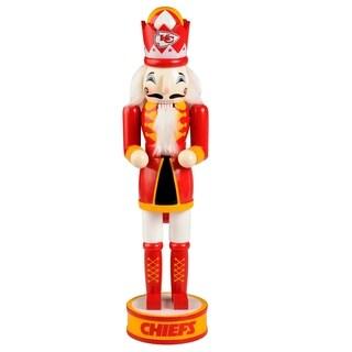Forever Collectibles Kansas City Chiefs Holiday Nutcracker - multi