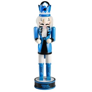 Forever Collectibles Carolina Panthers Holiday Nutcracker - multi