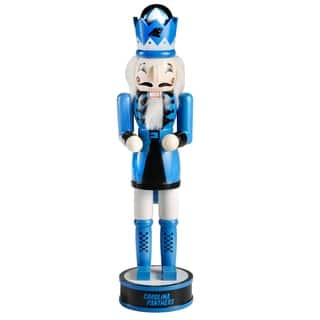Forever Collectibles Carolina Panthers Holiday Nutcracker