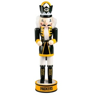 Forever Collectibles Green Bay Packers Holiday Nutcracker - multi