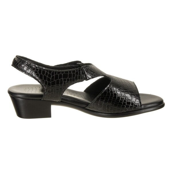 SAS Suntimer C Black Croc women/'s sandals shoes made USA New in Box