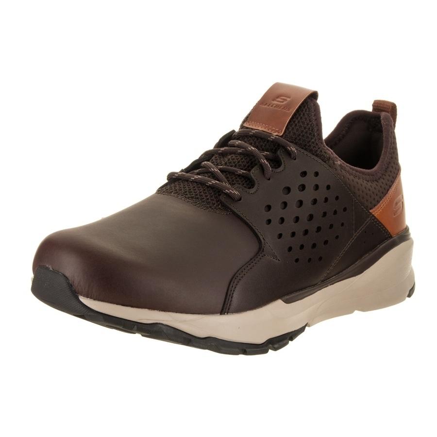 Skechers Men's Relven Hemson Wide Fit Casual Shoe
