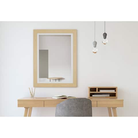 Hitchcock Butterfield Sundsvall Maple and White Mirror