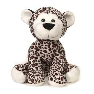 Lil' Buddies Snow Leopard Plush - White