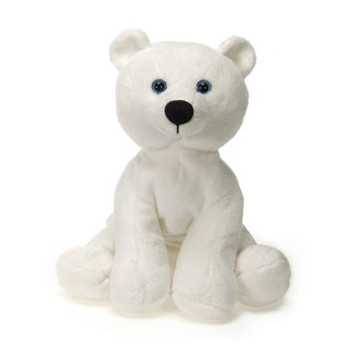 Lil' Buddies Polar Bear Plush - White