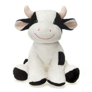 Lil' Buddies Cow Plush - White