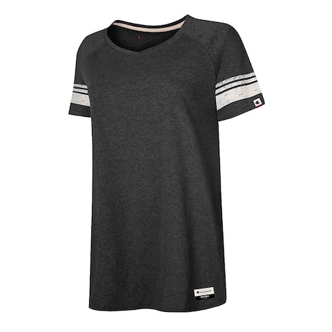 Champion Authentic Originals Women's Triblend Short Sleeve Varsity T-shirt