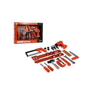 Lucky Toys 18 Piece Tool Set, Drill
