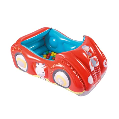 Bestway Fisher Price Race Car Ball Pit with 25 Balls