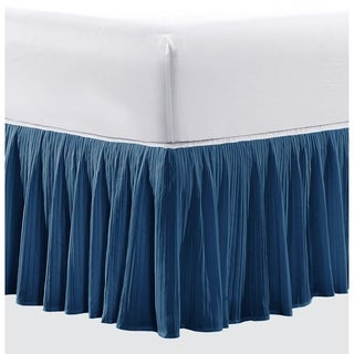 Serenta 18 Inch Drop Diamond Square Matching Bed Skirt