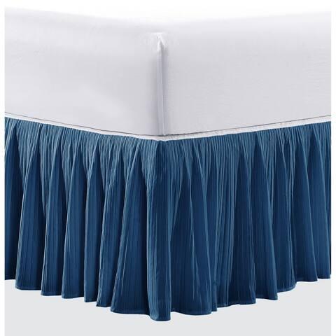 Serenta 18 Inch Drop Diamond Square Matching Bed Skirt