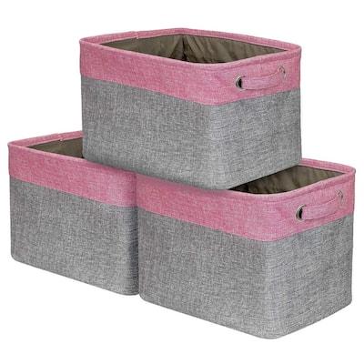Sorbus Storage Large Basket Set (3-Pack)