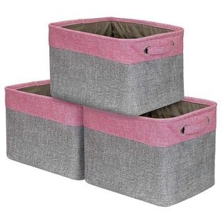 Sorbus Storage Large Basket Set (3-Pack)