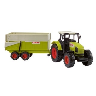 Dickie Toys Claas Toy Tractor with trailer