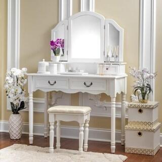 Fineboard Vanity Dressing Table Set Makeup Dressing Table