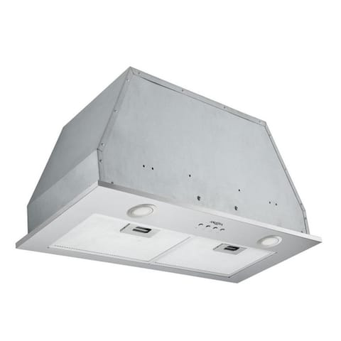 Ancona Inserta Chef 28 in. Build-In Range Hood in Stainless Steel