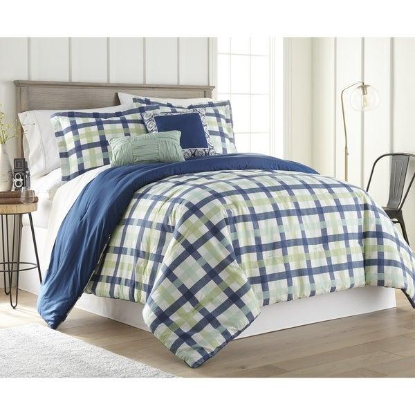 Gingham 5PC Comforter Set
