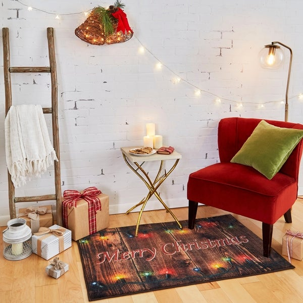 "Mohawk Home Prismatic Christmas Lights Area Rug - 2'6"" x 4'2"""