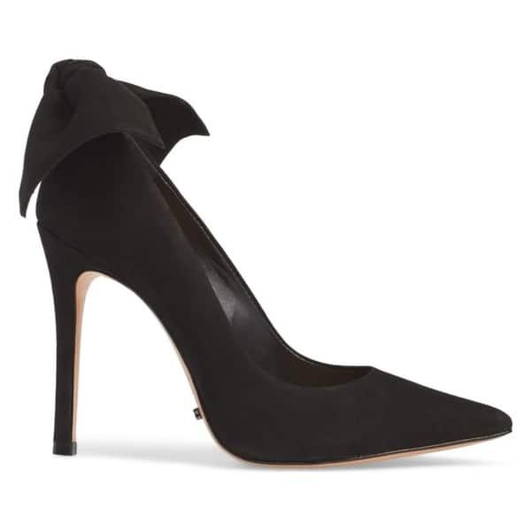 b7e908efd4d Shop SCHUTZ Blasiana Black Suede High Heel Stiletto Dress Pointed ...