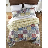 Andrea 3 Piece Reversible Quilt Set
