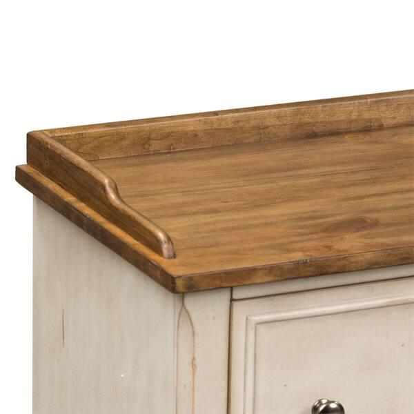 Fine Shop Morgan Creek Antique White Storage Hall Bench On Sale Cjindustries Chair Design For Home Cjindustriesco