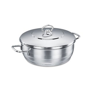 Link to Korkmaz Classic  18/10 Stainless Steel Dutch Oven Covered Stockpot Cookware Induction Compatible Oven Safe 3.8 Quart Similar Items in Cookware