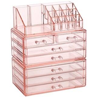 Ikee Design Makeup Organizer Jewelry Storage Case 3-piece Set