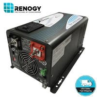 Renogy 1000W 12V Pure Sine Wave Inverter Charger DC AC Battery Power Converter - Black