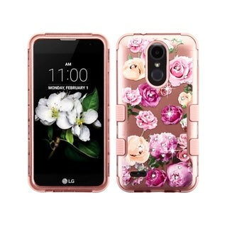Insten Tuff PC/TPU Rubber Case Cover for LG Aristo 2/Aristo 2 Plus/Fortune 2/K8 (2018)/K8 Plus (2018)/Risio 3/Tribute Dynasty