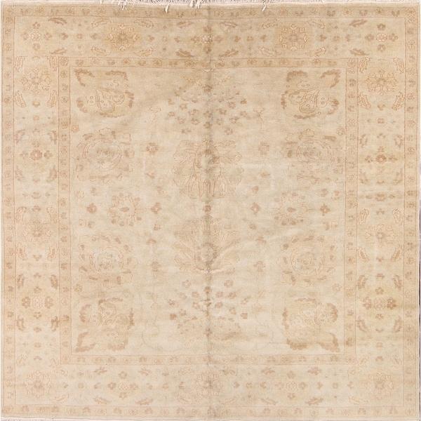 "Gracewood Hollow Kyemba Handmade Square Wool Area Rug - 6'1"" square"