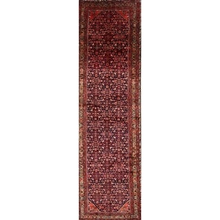 """The Curated Nomad Andrei Persian Hand-knotted Wool Heirloom Item Area Rug - 13'5"""" x 3'10"""" runner"""