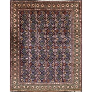 "Vinatge Tabriz Handmade Oriental Persian Traditional Area Rug - 12'3"" x 9'7"""