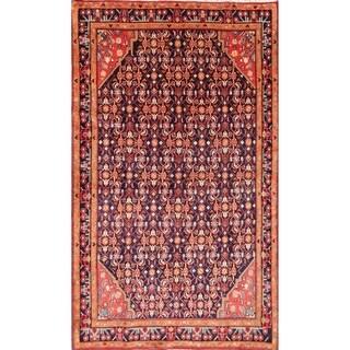 "Zanjan Handmade Wool Geometric Tribal Persian Area Rug For Living Room - 7'8"" x 4'6"""